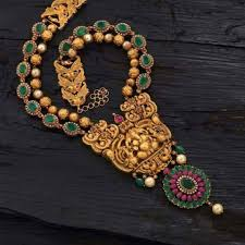 jewelry indian necklace images South indian jewellery facebook