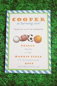 this sports themed birthday party is perfect for the sporty boy or