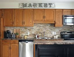 how to update honey oak kitchen cabinets how to make oak kitchen cabinets look modern materialsix