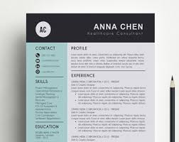 Teacher Resume Templates Word Cv Template Word Etsy