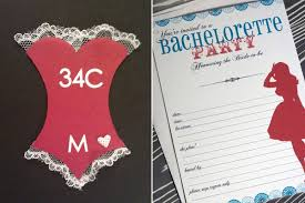 cheap bachelorette party invitations badbrya com