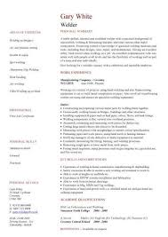 Boilermaker Resume Template Welder Sle Resume 28 Images Resume Sle Resume And Resume Exles