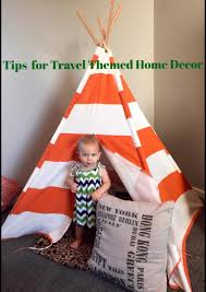 tips for travel themed home decor vacation gals