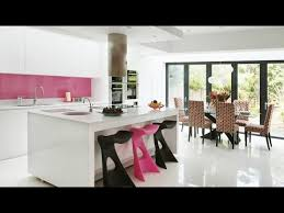 interior design kitchen living room kitchen and living room combination modern style 2017
