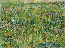 the baudelairean aesthetics of vincent van gogh u0027s patch of grass