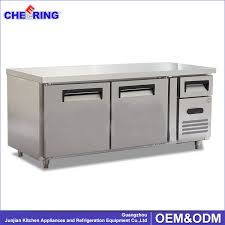 Stainless Steel Prep Table With Drawers Table Top Freezer With Drawers Girlshqpics Com
