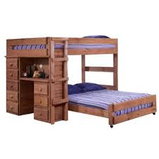 Amazon Com Bunk Bed All In 1 Loft With Trundle Desk Chest Closet by Bunk Beds With Drawers Bedz King Stairway Bunk Twin Over Twin Bed