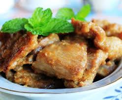 cuisiner porc sauté de porc à la moutarde et au cidre recette de sauté de porc à