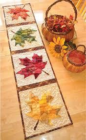 patchwork pumpkin quilted table runner pattern harvest tables