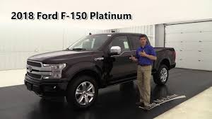 2018 ford f 150 platinum edition standard u0026 optional equipment