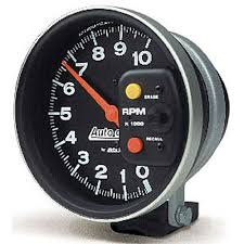 auto meter 233902 autogage pedestal mount tach 10 000 rpm jegs