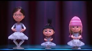 despicable me halloween costumes margo agnes u0026 edith at their u0027family u0027 recital despicable me
