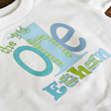 custom personalized birthday shirt or onesie the big one 1st