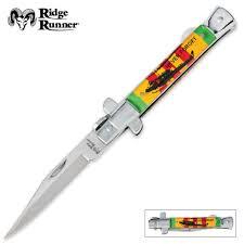 stiletto knives budk com knives swords at the lowest prices ridge runner vietnam veteran stiletto pocket knife