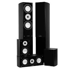 image home theater system high performance 5 speaker surround sound home theater system