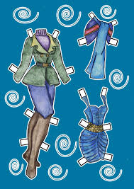 merida fantasy paper doll disney u0027s