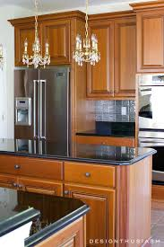 kitchen remodel with wood cabinets new kitchen dramatic kitchen renovation without removing