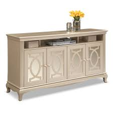 credenza table allegro tv credenza platinum value city furniture and mattresses