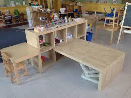 expedit preschool children u0027s table shelving ikea hackers