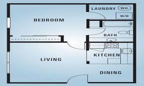 600 sqft 2 bedroom plan