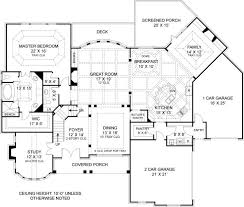 house plans with rear view narrow lot home plans with rear garage simple house plan view