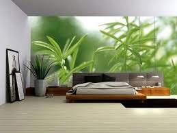 Pleasing  Modern Bedroom Green Decorating Design Of Natural - Green bedroom color