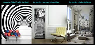 give a new dimension to your flat walls walldesign 3d perspective wall mural