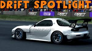 rx7 drift grid autosport drift spotlight mazda rx7 fd drift car youtube