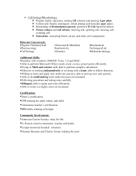 Sample Resume For Medical Laboratory Technician by Anh Nguyen Laboratory Technician Resume In San Diego Ca Biotech P U2026