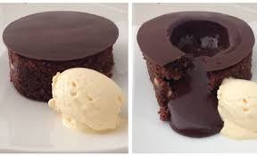 magic chocolate lava cake by ann reardon howtocookthat youtube