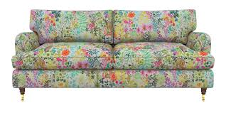 sofa flower print floral print upholstery back in fashion sofas u0026 stuff blog