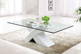 minimalist dutch concrete and glass coffee table modern