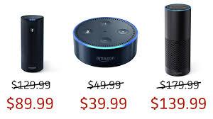 amazon echo dot black friday amazon echo echo dot and tap on sale at amazon u2014 same prices as