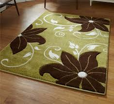 Floral Pattern Rugs Green Flower Rug Roselawnlutheran