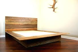 Bed Frames Ta Modern Floating Bed Glassnyc Co