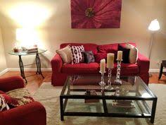 Living Room With Red Sofa by Leo Zodiac Pier 1 Alluring Mirror With Red Bamboo Vases And