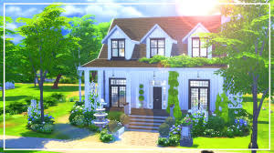 the sims 4 speed build st peter u0027s modern farmhouse youtube