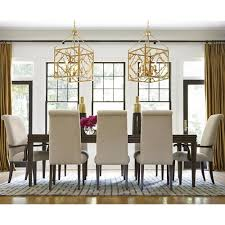 universal california hollywood hills 9 piece dining set with
