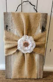 burlap crosses using old barn wood my craft projects