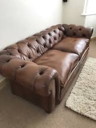 semi aniline leather sofa john lewis stanford chesterfield grand semi aniline leather sofa ebay