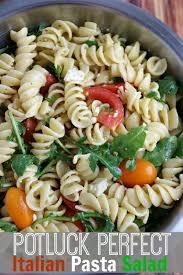 easy italian pasta salad recipe perfect for potlucks and picnics