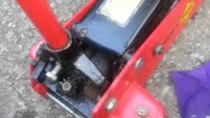 Sears Hydraulic Jack Parts by Floor Jack Won U0027t Pump Up Youtube