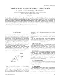 chemical stability of prednisone oral suspension and drug