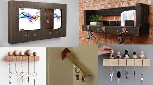 Decorative Key Racks For The Home Diy Wooden Key Holder For Wall Ideas Diy Home Decor Ideas Easy