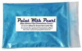 blue green flip paint kolorshift pearls kustompearls