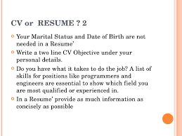 List Of Skills For A Resume My Curriculum Vitae