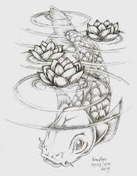 imagenes de pez koi a lapiz pez koi a lápiz koi pinterest tattoo koi and drawings