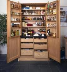 free standing kitchen pantry units kitchen cabinet side table
