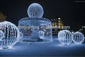 Led Christmas Decoration Lights Products by Led Ball Motif Light Outdoor Led Christmas Light Street Decoration