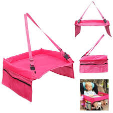 Kids Lap Desk For Car by The Original Kids Travel Tray And Backseat Car Organizer Holds